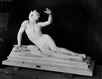 Roger-Viollet | 624732 | Alphonse Guilloux (1852-1939).  Orphée expirant . Rouen. | © Léopold Mercier / Roger-Viollet