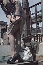 Roger-Viollet | 628031 | World War II. Place de l'Opéra. Photograph by André Zucca (1897-1973). Bibliothèque historique de la Ville de Paris. | © André Zucca / BHVP / Roger-Viollet