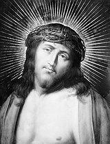 Roger-Viollet   632747   Face of Jesus   © Léopold Mercier / Roger-Viollet