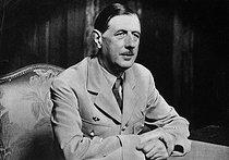 Roger-Viollet | 633142 | Charles De Gaulle (1890-1970), French general. France, 1946. | © Roger-Viollet / Roger-Viollet