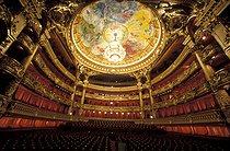 Roger-Viollet | 635221 | Interior of the Opéra Garnier. Paris (IXth arrondissement), February 1996. | © Colette Masson / Roger-Viollet