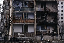 Roger-Viollet | 639164 | First Chechen War. Grozny (Chechen Republic, Russia), January 12, 1995. | © Jean-Paul Guilloteau / Roger-Viollet