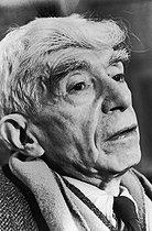 Roger-Viollet | 645019 | Ossip Zadkine (1890-1967), Russian-born French sculptor. | © Jean-Régis Roustan / Roger-Viollet