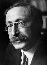 Roger-Viollet | 651900 | Leon Blum (1872-1950), French politician. | © Pierre Choumoff / Roger-Viollet