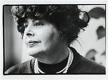 Roger-Viollet | 668443 | Monique Antoine, French laywer, co-founder and president (1973-1975) of the Mouvement de Libération de l'Avortement et la Contraception (Free Abortion and Contraception Movement, MLAC), 1988. | © Catherine Deudon / Roger-Viollet