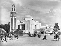 Roger-Viollet | 673147 | Colonial Exhibition. The Algerian pavilion. Paris, 1931. | © Pierre Jahan / Roger-Viollet