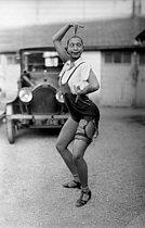 Roger-Viollet   673965   Josephine Baker (1906-1975), American variety artist, 1926.   © Roger-Viollet / Roger-Viollet