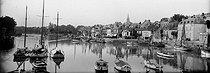 Roger-Viollet | 682111 | Pornic (Loire-Atlantique).The harbor. Around 1900. | © Léon & Lévy / Roger-Viollet