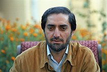 Roger-Viollet   685369   Second war in Afghanistan between the USA and the Northern Alliance against the Taliban following the September 11, 2001 attacks. Abdullah Abdullahn, foreign minister of the Northern Alliance. Afghanistan, September-October 2001.   © Jean-Paul Guilloteau / Roger-Viollet