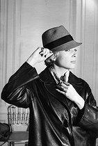 Roger-Viollet | 690839 | Micheline Presle, French actress. December 1959. | © Bernard Lipnitzki / Roger-Viollet