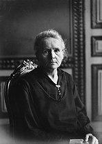Roger-Viollet | 696956 | Marie Curie (1867-1934), French physicist. 1926. | © Albert Harlingue / Roger-Viollet