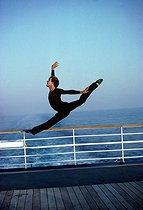 Roger-Viollet | 722087 | Patrick Dupond, French ballet dancer, August 1962. | © Colette Masson / Roger-Viollet