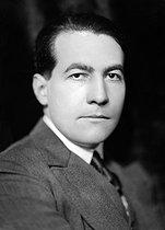 Roger-Viollet   729883   Maurice Martin du Gard (1896-1970), French writer and journalist. France, about 1930.   © Henri Martinie / Roger-Viollet