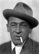 Roger-Viollet | 735126 | Blaise Cendrars (Frédéric Louis Sauser, 1887-1961), French writer, circa 1925. | © Henri Martinie / Roger-Viollet