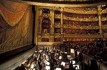 Roger-Viollet | 743637 | Interior of the Opéra Garnier. Paris (IXth arrondissement), October 1996. | © Colette Masson / Roger-Viollet