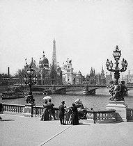Roger-Viollet | 766112 | 1900 World Fair in Paris | © Léon & Lévy / Roger-Viollet