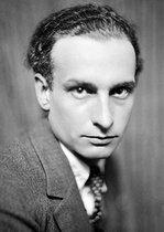 Roger-Viollet   767440   Philippe Soupault (1897-1990), French writer.   © Henri Martinie / Roger-Viollet