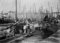 Roger-Viollet | 772594 | Brittany - Return from fishing | © Maurice-Louis Branger / Roger-Viollet