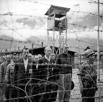 Roger-Viollet | 781371 | ALLEMAGNE - CAMP OF NAZI PRISONERS | © Gaston Paris / Roger-Viollet