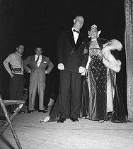 Roger-Viollet   794482   Joséphine Baker (1906-1975), American artist of music hall, in 1956.   © Roger-Viollet / Roger-Viollet