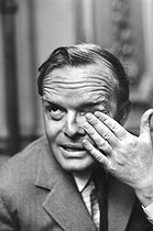 Roger-Viollet | 802029 | Truman Capote (1924-1984), American writer. | © Jean-Régis Roustan / Roger-Viollet