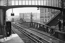 Roger-Viollet   804553   Entrance of the Sèvres metro station. Paris (XIIIth arrondissement), circa 1900.   © Neurdein / Roger-Viollet