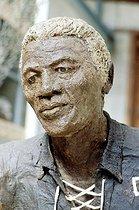 Roger-Viollet | 806088 | Nelson Mandela (série des grands hommes) | © Béatrice Soulé / Roger-Viollet