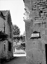 Roger-Viollet   807183   Les Milandes (Dordogne). Place Joséphine, in homage to Josephine Baker (1906-1975), American actress and variety artist.   © CAP / Roger-Viollet