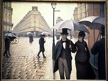 Roger-Viollet | 812931 | Rue de Paris, temps de pluie | © Roger-Viollet / Roger-Viollet
