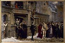 Roger-Viollet | 827188 | Pierre-Charles Comte (1823-1895).  Henri III (1551-1589), roi de France et le duc de Guise (1549-1588), à Blois, 1588 . Blois museum. | © Roger-Viollet / Roger-Viollet