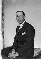 Roger-Viollet | 827784 | Igor Stravinski (1882-1971), compositeur russe. Paris, vers 1930. | © Boris Lipnitzki / Roger-Viollet