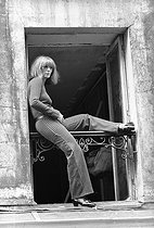 Roger-Viollet   839040   Sonia Rykiel (1930-2016), French fashion designer, August 1930.   © Jean-Régis Roustan / Roger-Viollet
