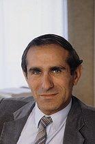 Roger-Viollet   851634   Paul Quilès (born in 1942), French deputy, in 1981.   © Jean-Pierre Couderc / Roger-Viollet