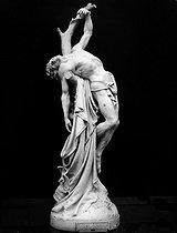 Roger-Viollet | 853875 | Becquet. Statue de St Sebastien. | © Léopold Mercier / Roger-Viollet