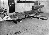 Roger-Viollet | 867727 | War 1939-1945. V1 rocket. | © LAPI / Roger-Viollet