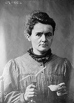 Roger-Viollet | 870063 | Marie Curie (1867-1934), French physicist. | © Albert Harlingue / Roger-Viollet