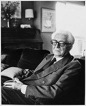Roger-Viollet | 878188 | Fernand Braudel (1902-1985), French historian. Paris, October 1984. | © Bruno de Monès / Roger-Viollet