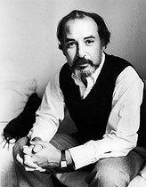 Roger-Viollet | 882137 | Tahar Ben Jelloun (born in 1944), Franco-Moroccan writer and poet, around 1980. | © Bruno de Monès / Roger-Viollet