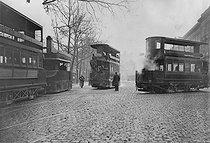 Roger-Viollet   882981   Paris - Streetcars   © Maurice-Louis Branger / Roger-Viollet