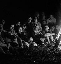 Roger-Viollet | 925494 | Camping and Culture association | © Marcel Cerf / BHVP / Roger-Viollet