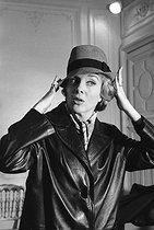 Roger-Viollet | 936602 | Micheline Presle (born in 1922), French actress, December 1959. | © Bernard Lipnitzki / Roger-Viollet