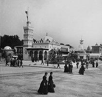 Roger-Viollet | 938273 | Exposition universelle de 1889, Paris. Palais de l'Algérie. | © Léon & Lévy / Roger-Viollet