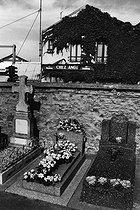 Roger-Viollet | 941568 |  Chez Ange . Cemetery in Colombes (Hauts-de-Seine, France), 1980's. | © Jean-Pierre Couderc / Roger-Viollet