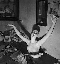 Roger-Viollet | 950941 | Wax figure at the Grévin museum. Paris (IXth arrondissement), circa 1935. | © Gaston Paris / Roger-Viollet