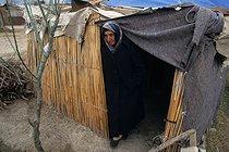Roger-Viollet | 953191 | Azeri refugee camp in Imishly. Azerbaijan, 1997. | © Jean-Paul Guilloteau / Roger-Viollet