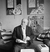 Roger-Viollet | 955445 | Henri Matisse | © Boris Lipnitzki / Roger-Viollet
