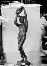 Roger-Viollet | 956430 | Tournois.  Persée , bronze. | © Léopold Mercier / Roger-Viollet