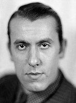 Roger-Viollet   962372   René Char (1907-1988), French poet.   © Henri Martinie / Roger-Viollet