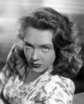 Roger-Viollet   962479   Micheline Presle, French actress. 1940.   © Léopold Mercier / Roger-Viollet