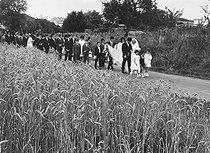 Roger-Viollet | 966595 | A wedding procession | © Janine Niepce / Roger-Viollet